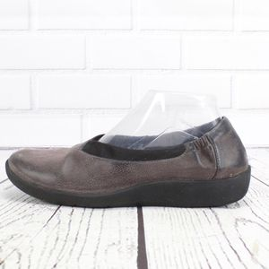 Clarks Cloud Steppers Comfort Shoes Purple 9.5